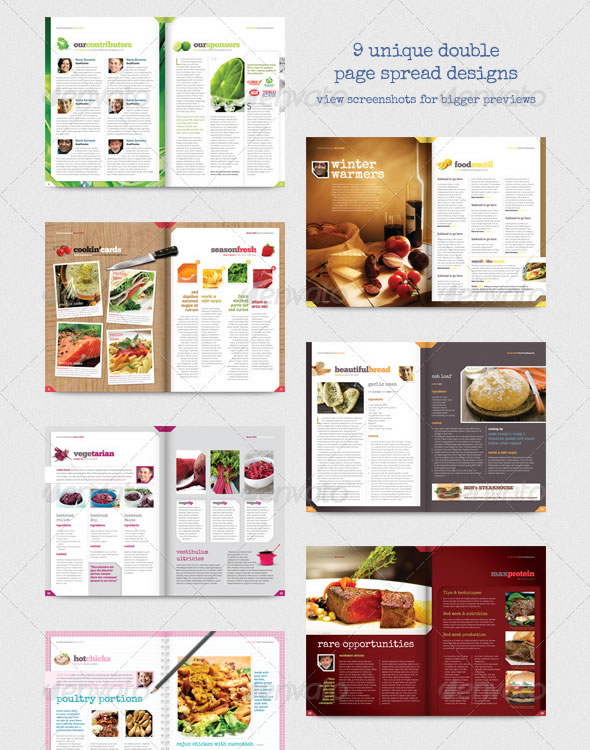 Creative Magazine Layout Design Ideas Entheos