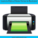 Learn to Make a Printer Vector in Illustrator