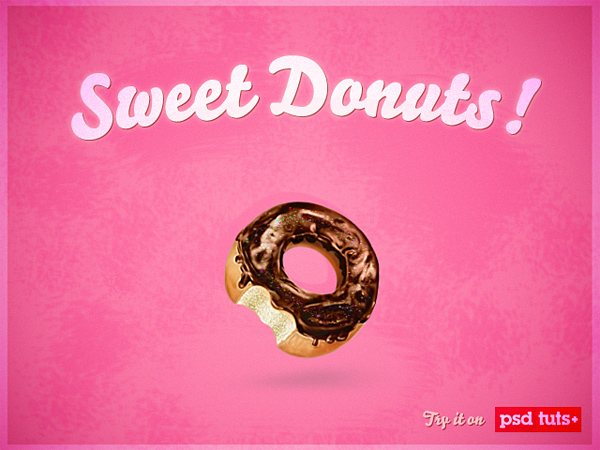 Create a Sweet Donut Icon in Photoshop