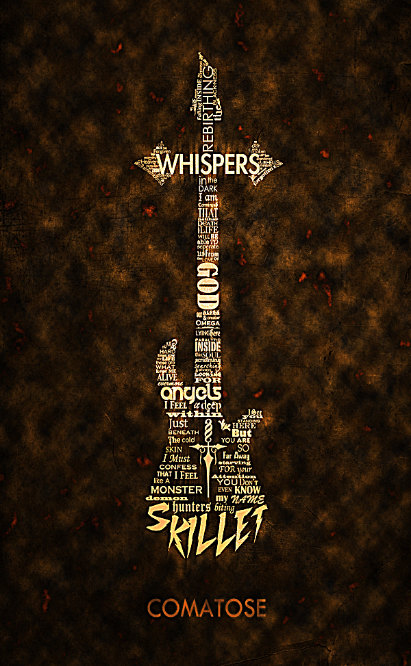 Skillet Cover - Typography