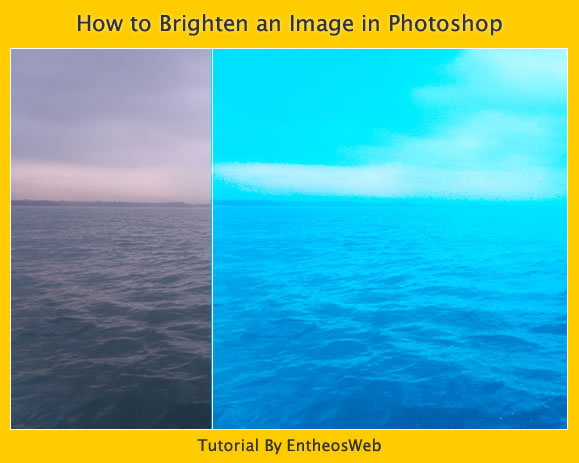 How to Brighten an Image in Photoshop