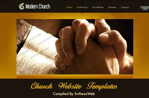 church website templates - Free Church Website Templates