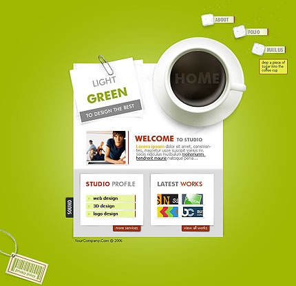 Tasteful Coffee Website Template Designs For Your Inspiration ...