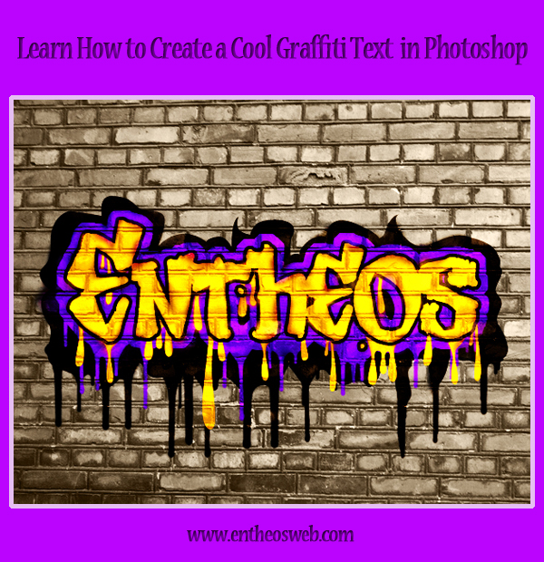 Learn How to Create a Cool Graffiti Text in Photoshop