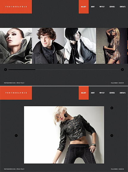 Photographer Photo Flash Photo Gallery Template
