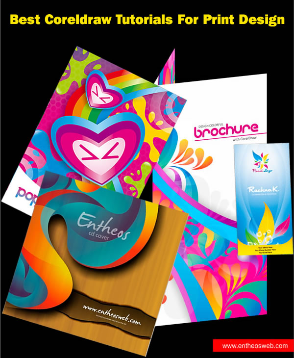 Corel Draw Book Cover Design Tutorial ~ Best coreldraw tutorials for print design entheos