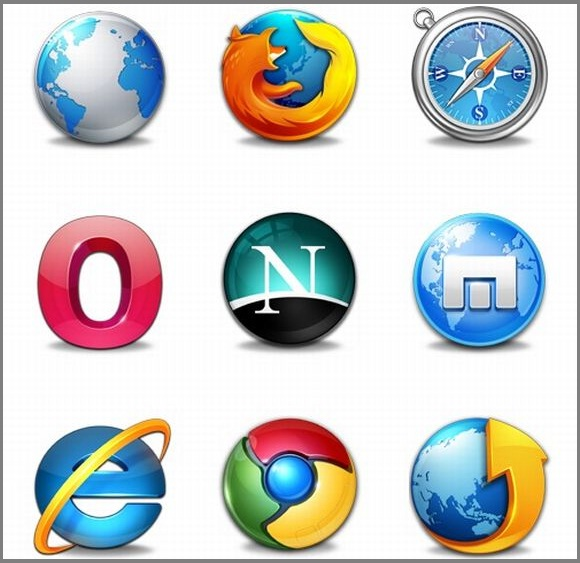 Browsers Icons by Morcha (9 icons)