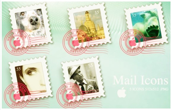 Apple Mail Icons