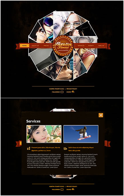 Martin Stuart XML Flash Photo Gallery Template