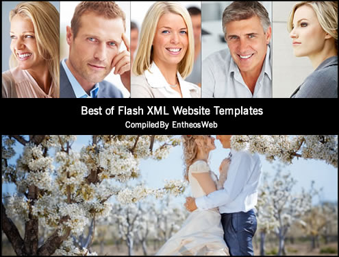 Best of Flash XML Website Templates