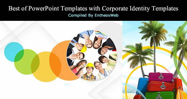 best of powerpoint templates with corporate identity templates, Presentation templates
