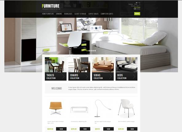 Furniture Interior PrestaShop Theme