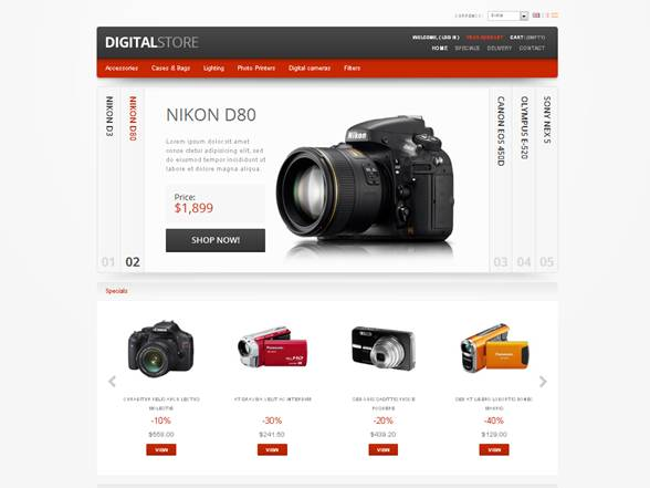 Digital Electronic PrestaShop Theme