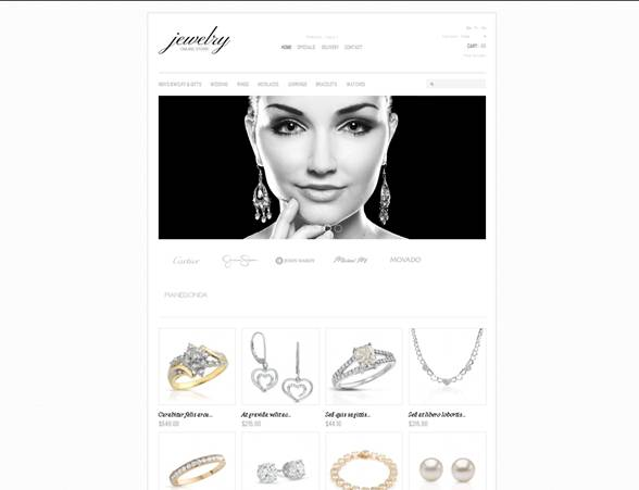Jewelry Collections PrestaShop Theme