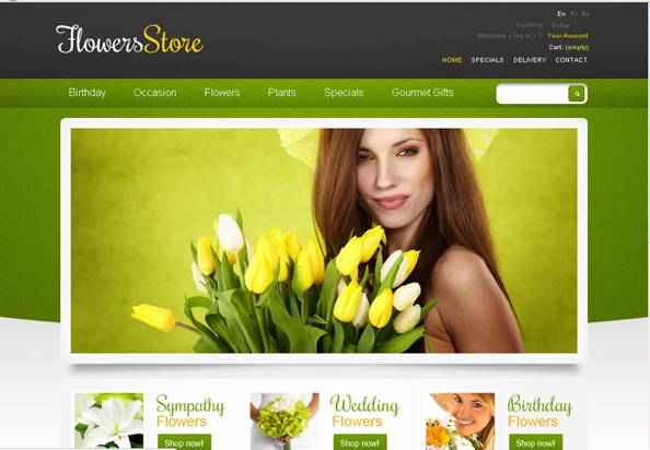 Flower Online PrestaShop Theme