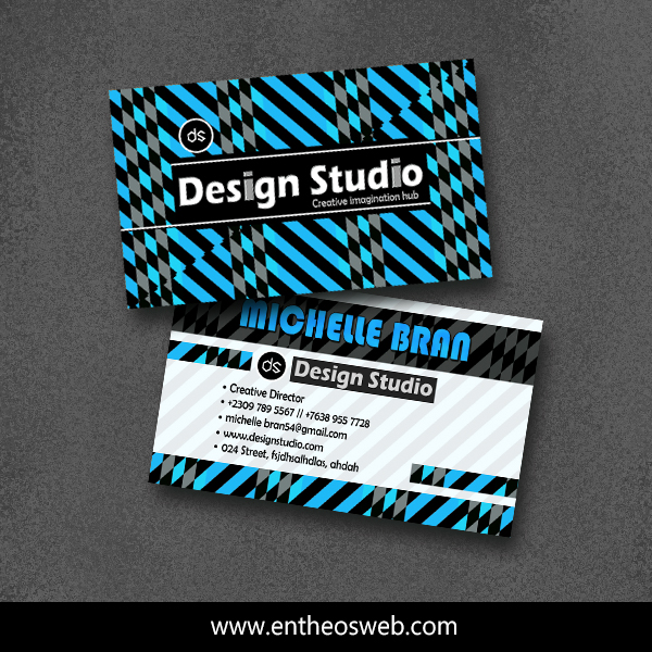Print Ready Business Card