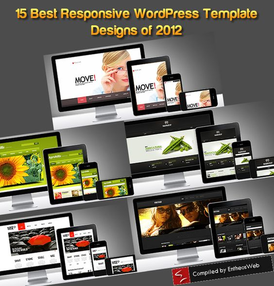 15 Best Responsive WordPress Template Designs of 2012