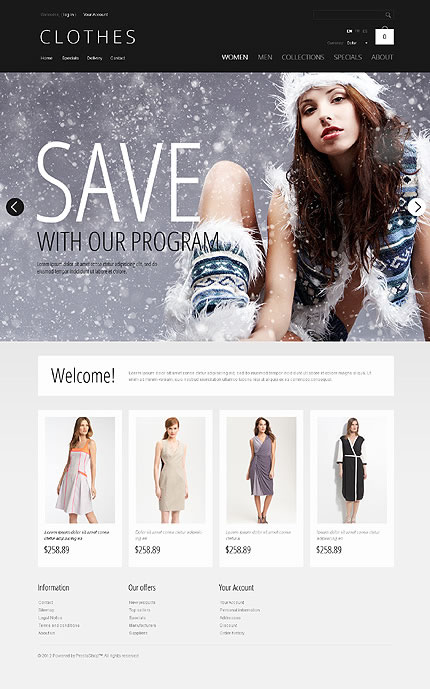 Clothes Online PrestaShop Theme