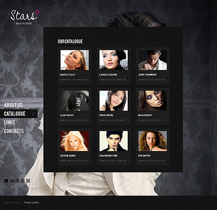 inspiring examples of full screen backgrounds in web design entheos. Black Bedroom Furniture Sets. Home Design Ideas