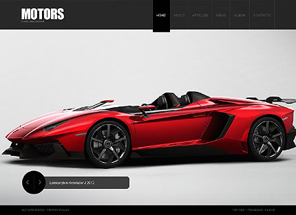 Cars WordPress Theme