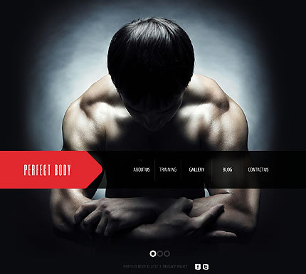 Fitness & Training Joomla Website Template With Blog & Photo Gallery