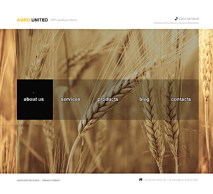 Agro United Joomla Template