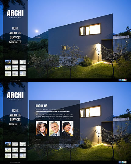 Archi Architecture Website Template