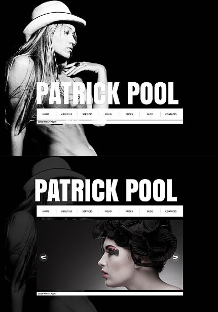 Patrick Pool Flash Photo Gallery Template
