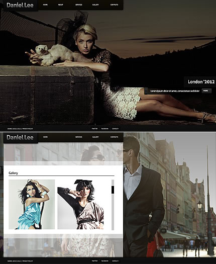 Daniel Lee Flash Photo Gallery Template