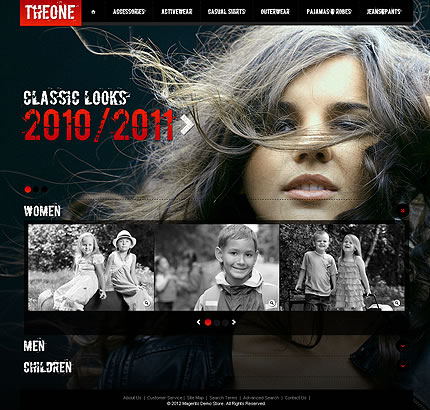 The One Magento Theme