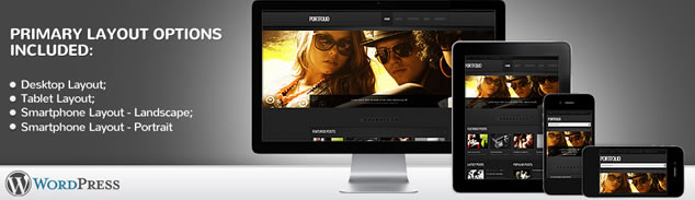Portfolio WordPress Theme With Amazing Homepage Slideshow Animation, Portfolio Gallery & Blog