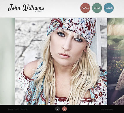 John Williams Photographer Website