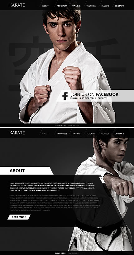 Karate Martial Website