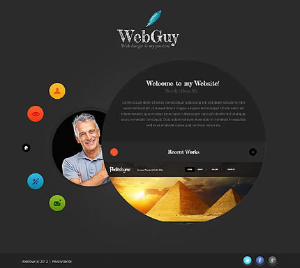 Web Guy Website Template