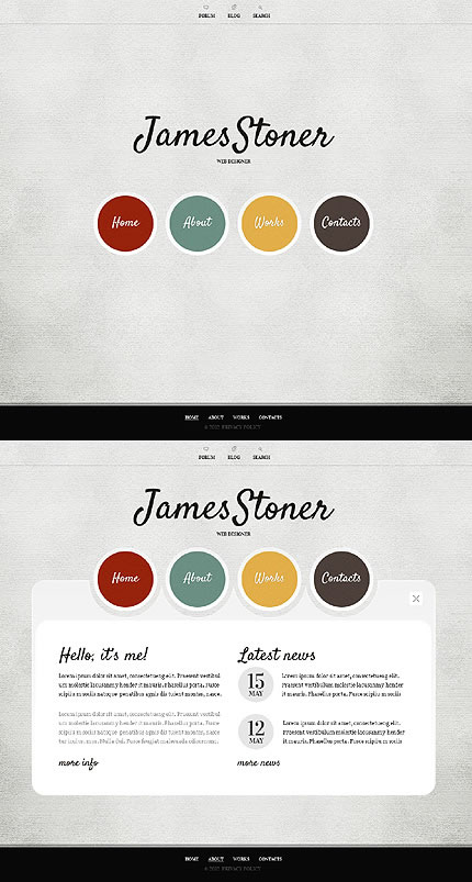 James Stoner Website