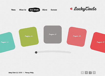 Lucky Circle Website Template