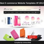best ecommerce website templates of 2012