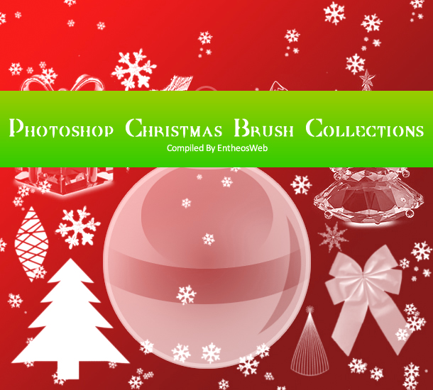 Photoshop Christmas Brush Collections