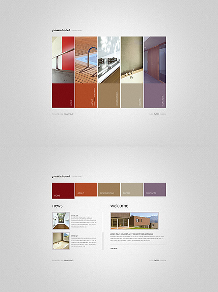Pekinhotel Hotel Website Template