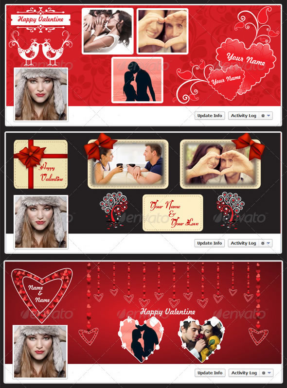 Creative Valentine Timeline Cover FB