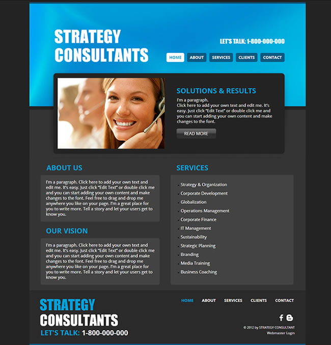 STRATEGY​ CONSULTANTS