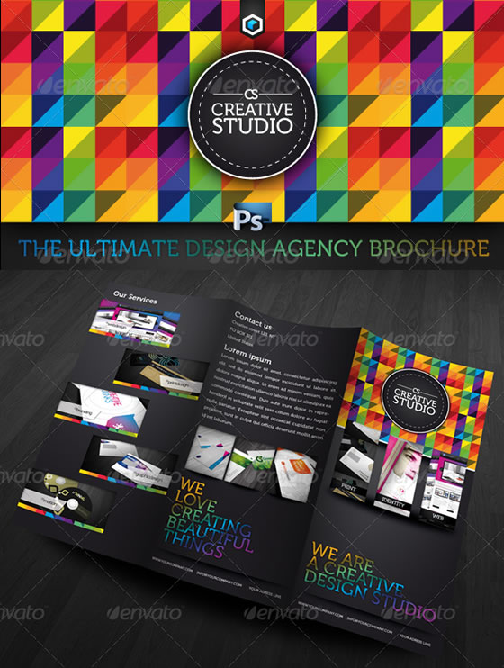 RW Ultimate Creative Studio Trifold Brochure