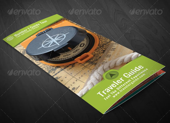 Creative tri fold brochure design templates entheos for Interesting brochure designs