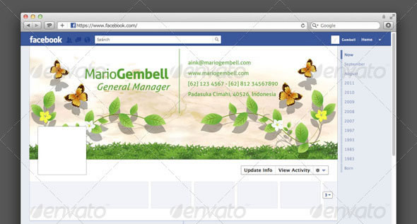 Nature Facebook Timeline Cover
