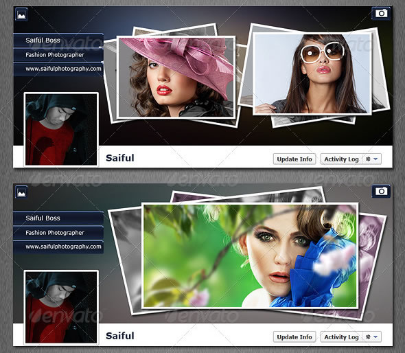 FB Timeline Cover Portfolio & Photo Frame