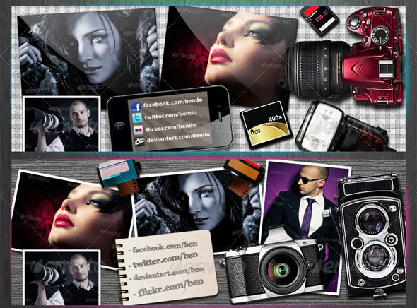 Photography Facebook Timeline Cover V2
