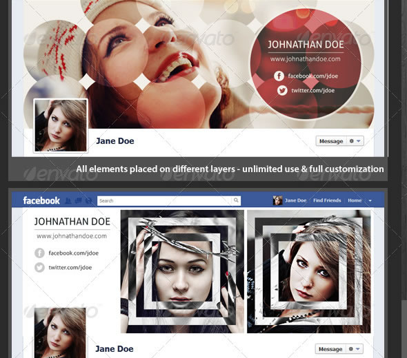 Creative Photography FB Timeline Covers