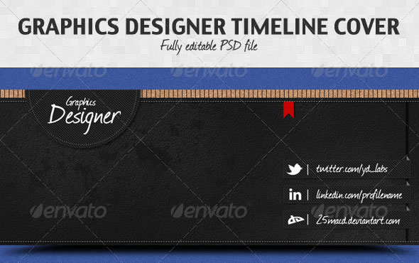 Graphics Designer Timeline Cover