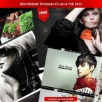 best website templates jan feb 2013 - thumbnail