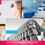 best website templates march 2013